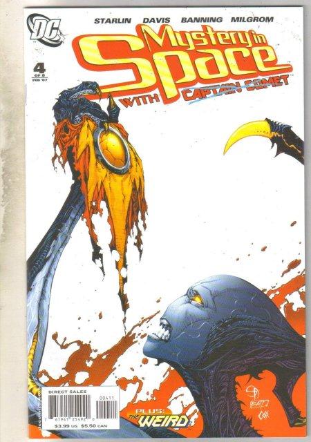Mystery In Space #4 comic book near mint 9.4