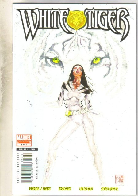 White Tiger #1 comic book mint 9.8