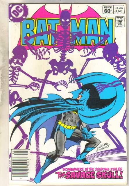 Batman #360 comic book near mint 9.4