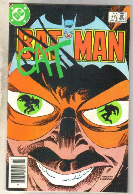 Batman #371 comic book near mint 9.4
