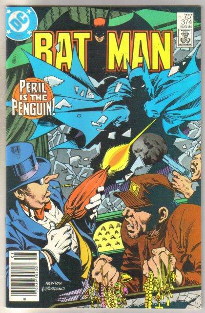 Batman #374 comic book near mint 9.4
