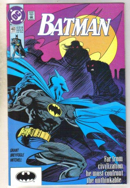 Batman #463 comic book near mint 9.4
