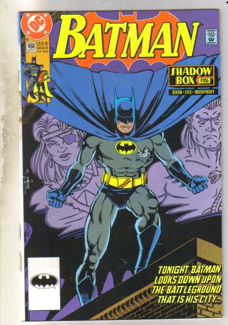 Batman #468 comic book near mint 9.4