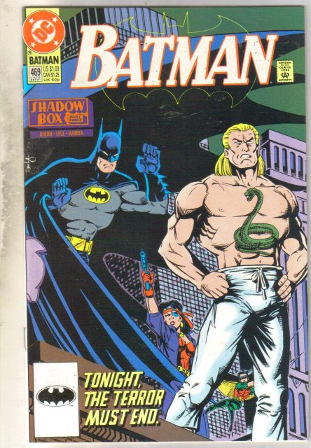 Batman #469 comic book near mint 9.4