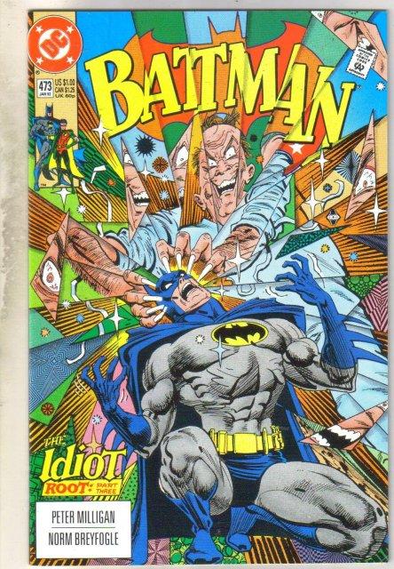 Batman #473 comic book near mint 9.4