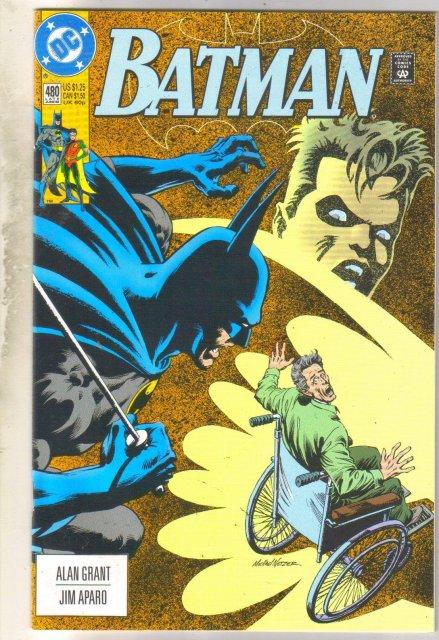Batman #480 comic book mint 9.8