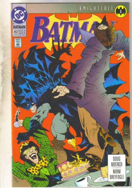 Batman #492 comic book mint 9.8