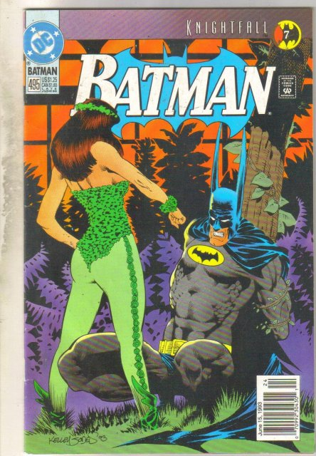 Batman #495 comic book near mint 9.4