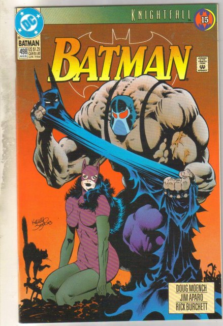 Batman #498 comic book mint 9.8