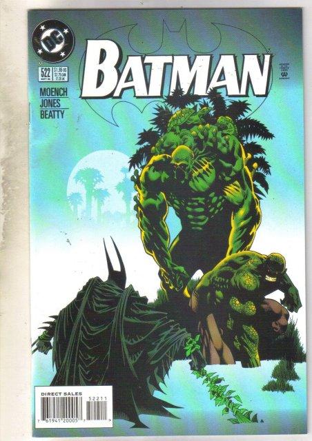 Batman #522 comic book near mint 9.4