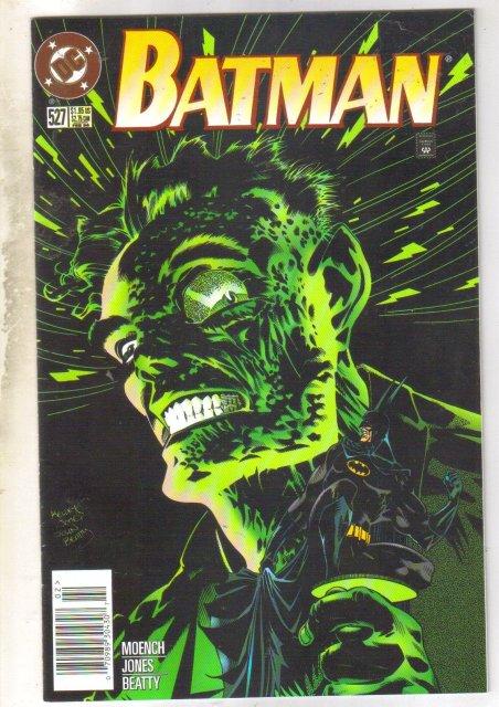 Batman #527 comic book near mint 9.4