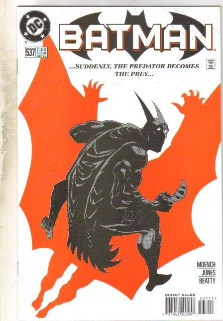 Batman #537 comic book near mint 9.4