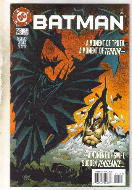 Batman #543 comic book near mint 9.4
