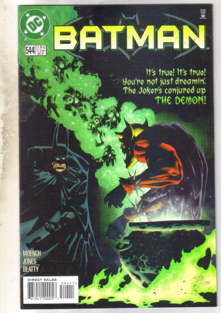 Batman #544 comic book near mint 9.4