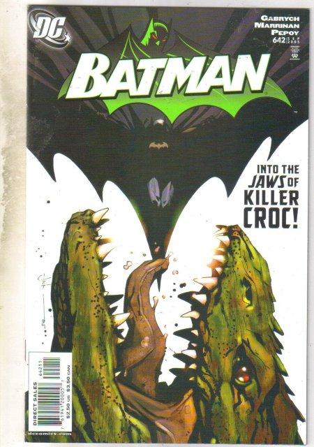 Batman #642 comic book mint 9.8