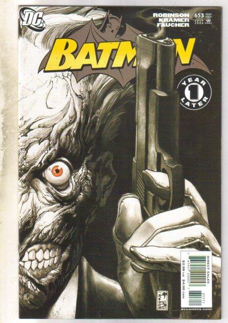 Batman #653 comic book mint 9.8