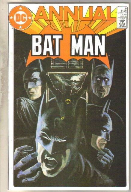 Batman Annual #9 comic book mint 9.8