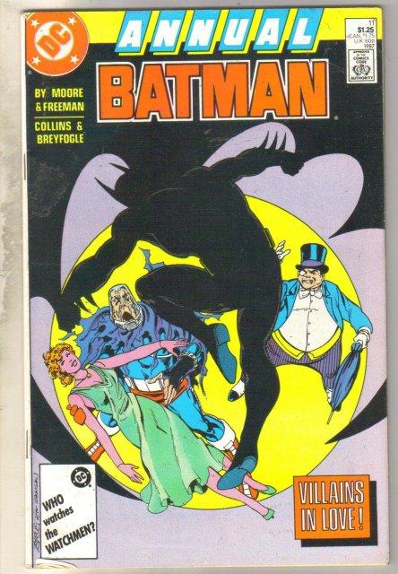 Batman Annual #11 comic book very fine 8.0