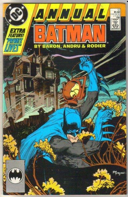 Batman Annual #12 comic book near mint 9.4