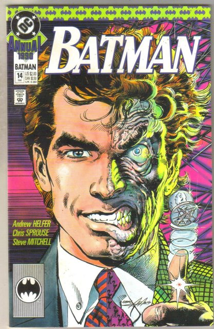 Batman Annual #14 comic book near mint 9.4