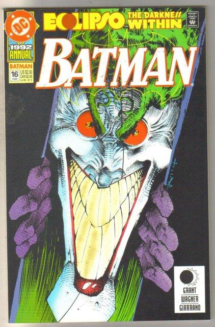 Batman Annual #16 comic book near mint 9.4