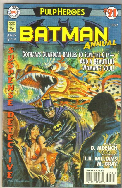 Batman Annual #21 comic book mint 9.8