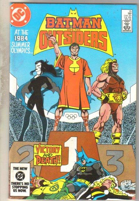 Batman and the Outsiders #15 comic book mint 9.8