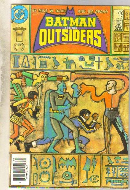 Batman and the Outsiders #17 comic book mint 9.8
