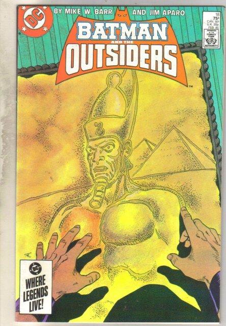 Batman and the Outsiders #18 comic book mint 9.8