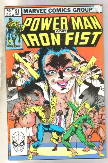 Power Man and Iron Fist #91 comic book near mint 9.4