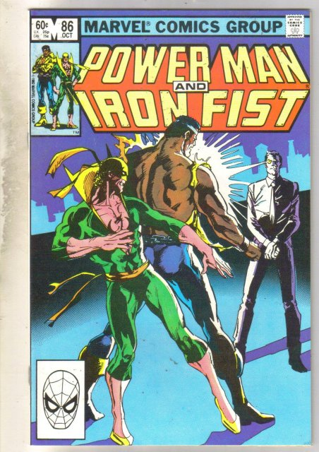Power Man and Iron Fist #86 comic book near mint 9.4