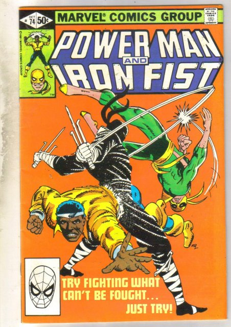 Power Man and Iron Fist #74 comic book fine 6.0