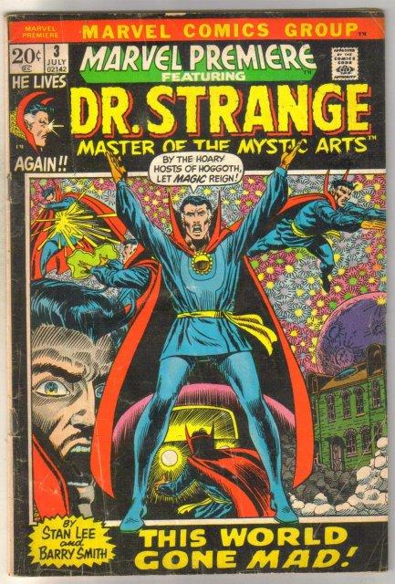 Marvel Premiere Dr. Strange #3 comic book good/very good 3.0