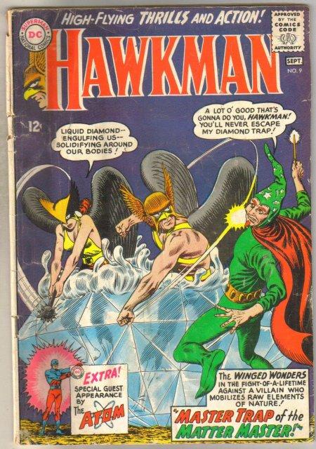 Hawkman #9 comic book good 2.0
