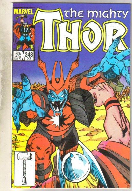 Thor #348 comic book mint 9.8