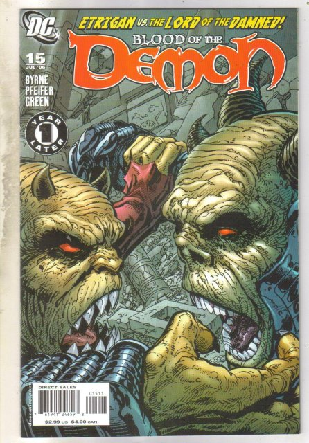Blood of the Demon #15 comic book mint 9.8