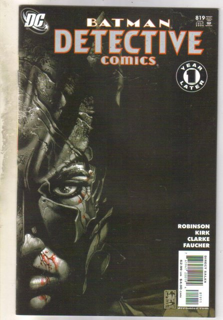 Detective Comics #813 comic book near mint 9.4