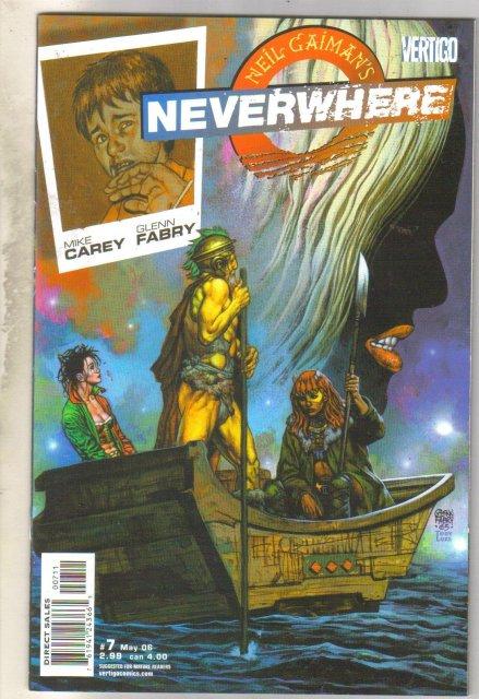 Neil Gaiman's Neverwhere #7 comic book mint 9.8