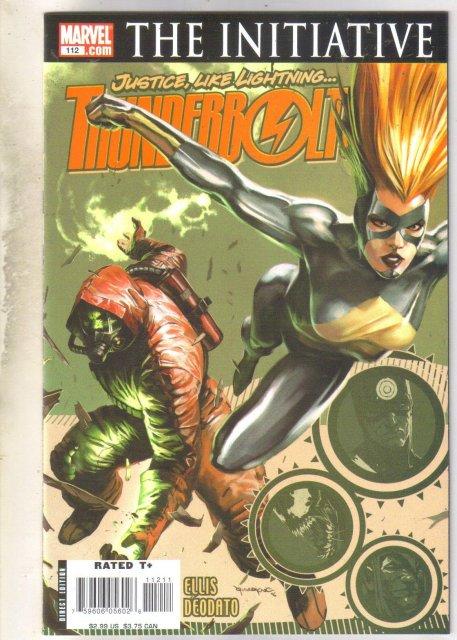 Thunderbolts #112 comic book mint 9.8