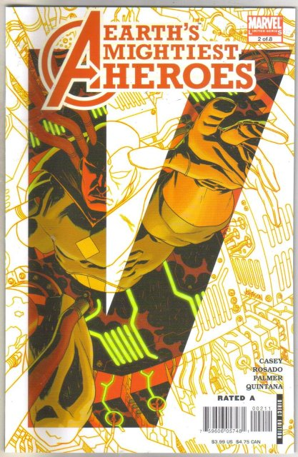Avengers Earth's Mightiest Heroes II #2 comic book mint 9.8