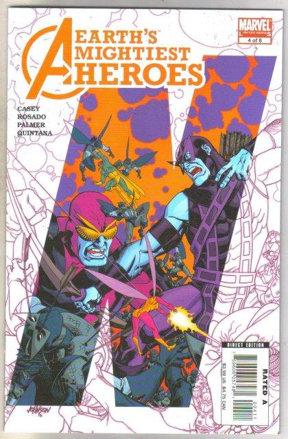 Avengers Earth's Mightiest Heroes II #4 comic book mint 9.8