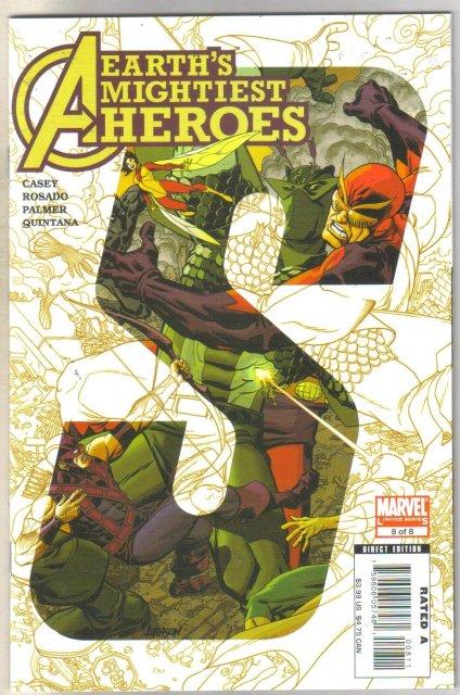 Avengers Earth's Mightiest Heroes II #8 comic book mint 9.8