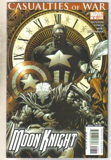 Moon Knight #8 comic book mint 9.8