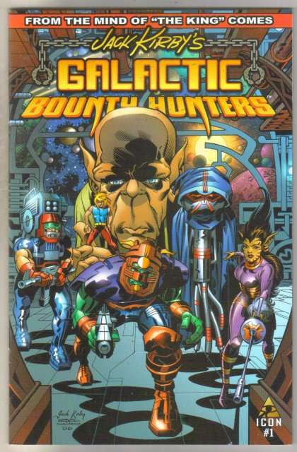 Jack Kirby's Galactic Bounty Hunters #1 comic book mint 9.8