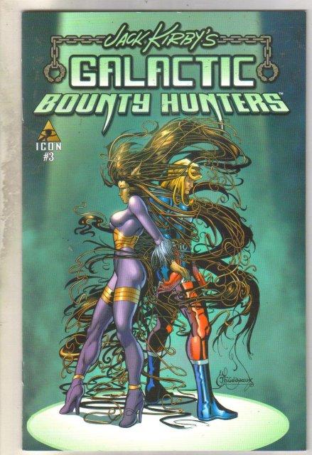 Jack Kirby's Galactic Bounty Hunters #3 comic book mint 9.8