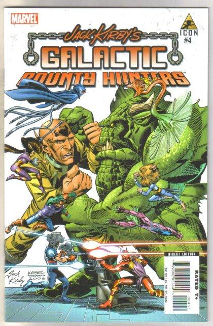 Jack Kirby's Galactic Bounty Hunters #4 comic book mint 9.8