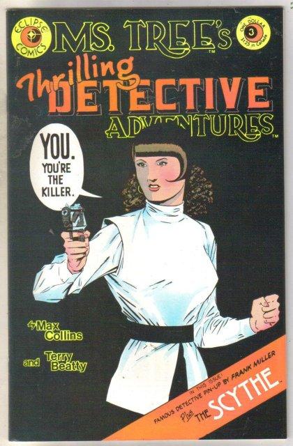 Ms. Tree's Thrilling Detective Adventures #3 comic book mint 9.8