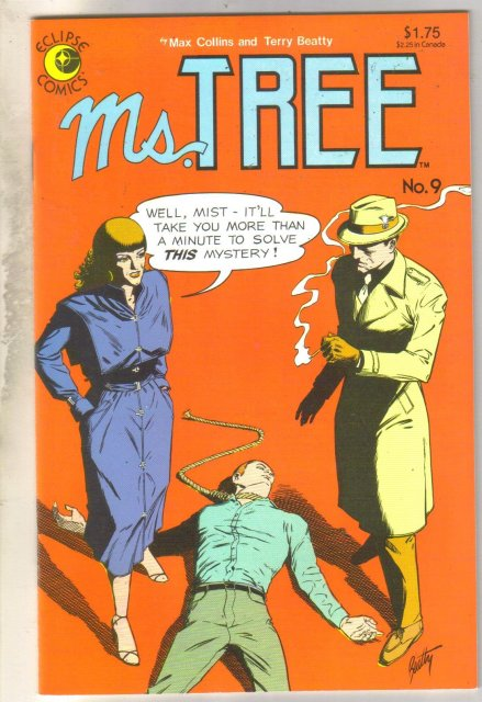 Ms. Tree's Thrilling Detective Adventures #9 comic book mint 9.8