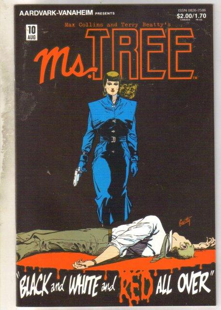 Ms. Tree's Thrilling Detective Adventures #10 comic book mint 9.8
