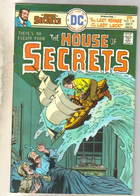 House of Secrets #136 comic book very good/fine 5.0